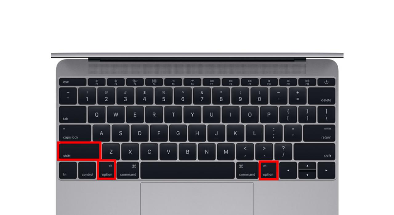 tasta de opțiune pe Mac