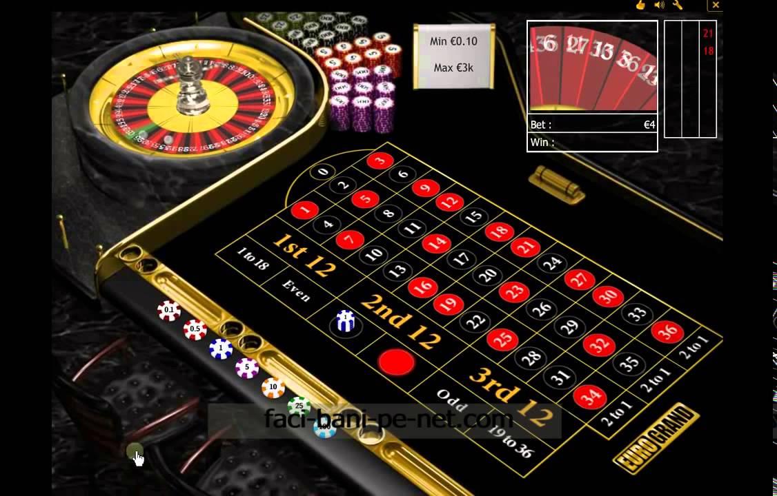 cum să faci bani pe ruletă pe internet)