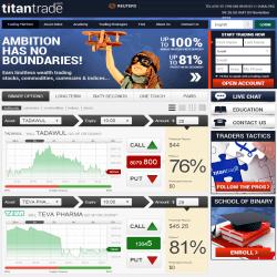 ttan trade binary option)