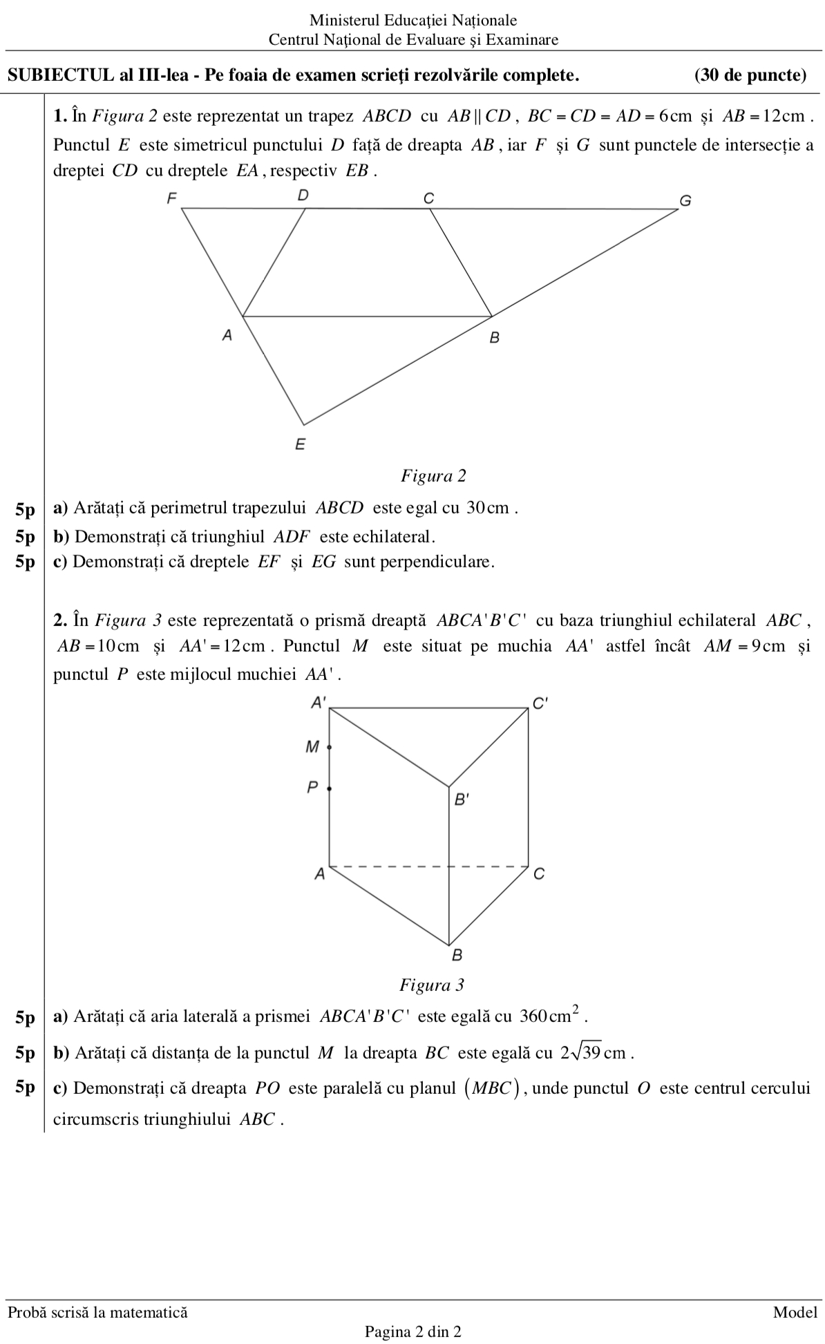 modele matematice de opțiuni)