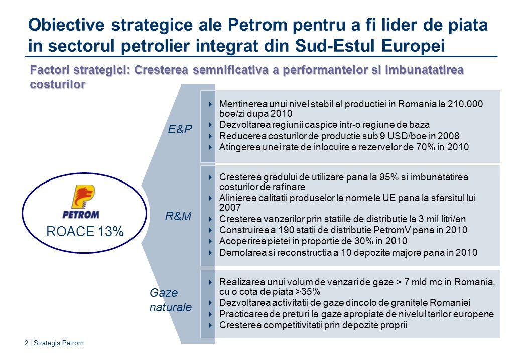 indicatori de realizare a obiectivelor strategice