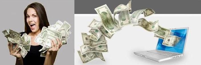 câștigând bani pe internet pe lucruri simple