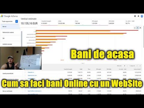 cum să faci bani creând un site web)