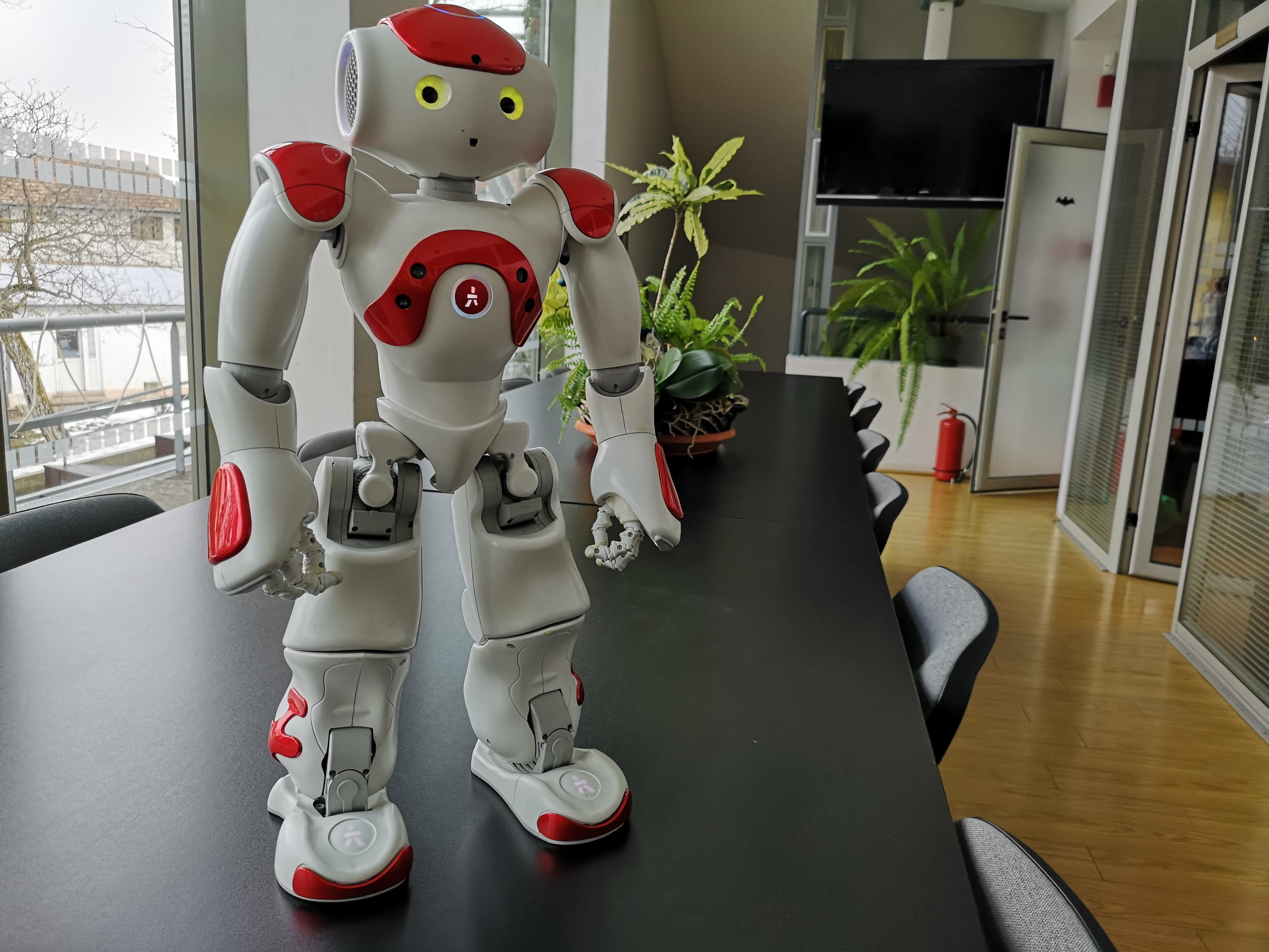 robotul robot face bani