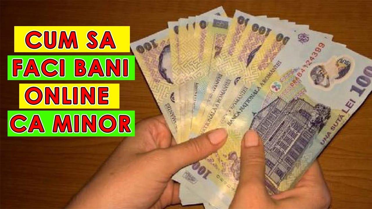 cum să faci bani într- un minut