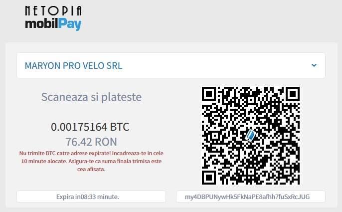 plăți pentru portofel Bitcoin)