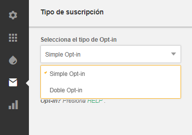 exemplu de înregistrare a opțiunilor)