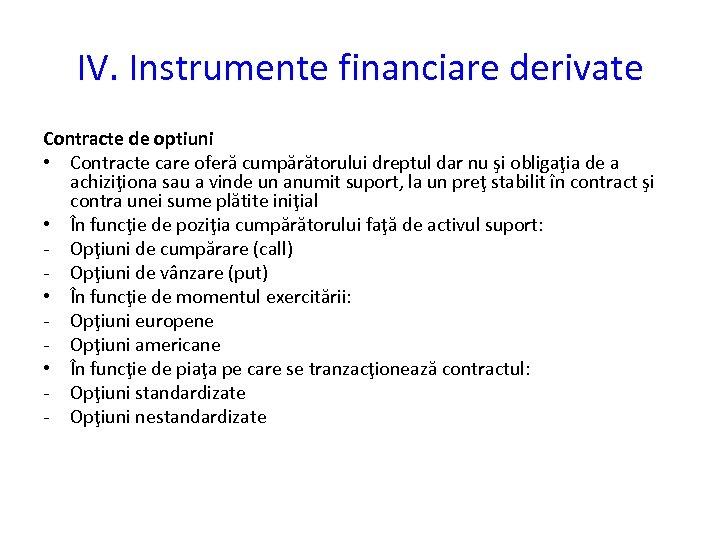 opțiuni financiare și reale)