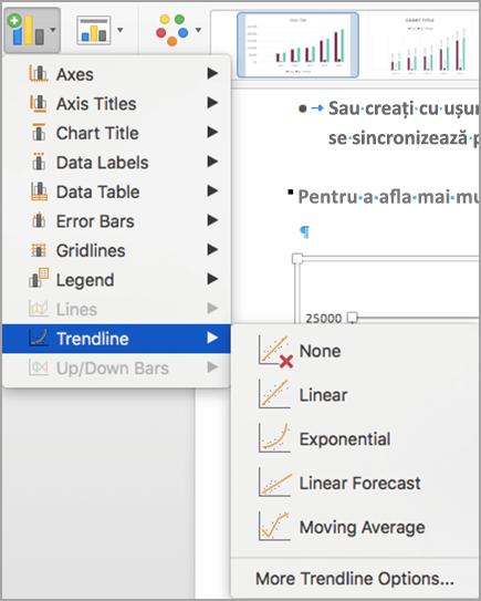 Cum se trasează o linie orizontală în Excel dintr-o singură valoare?