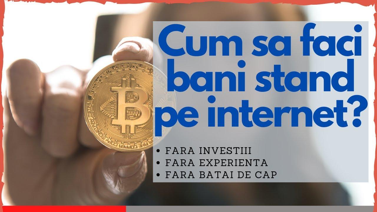 a face bani pe Internet nu este financiar