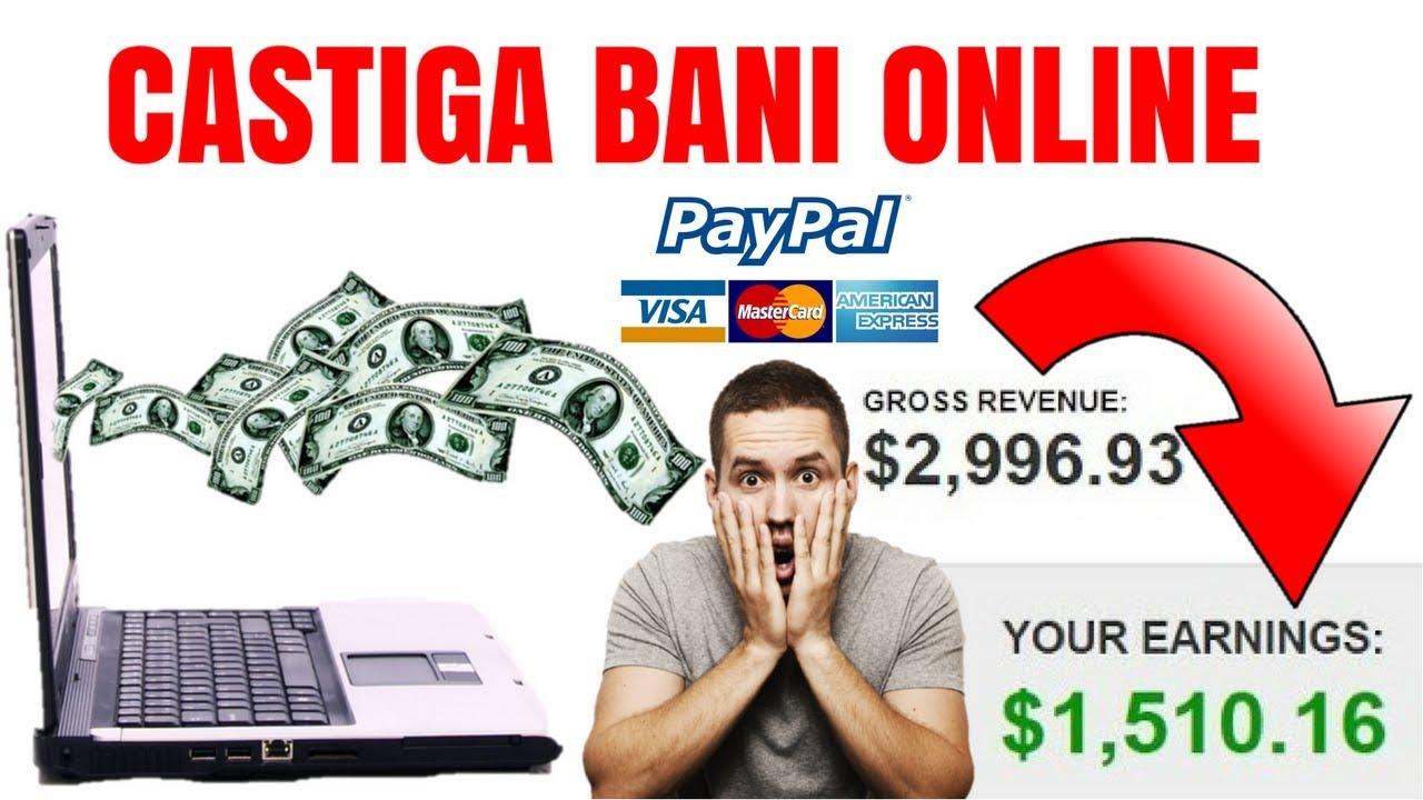 poți câștiga bani pe internet)