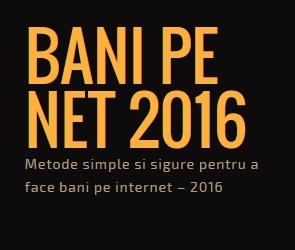 Bani pe net | Fără investiții și sigur!!! Sondaje plătite în euro, bani din jocuri, freelance