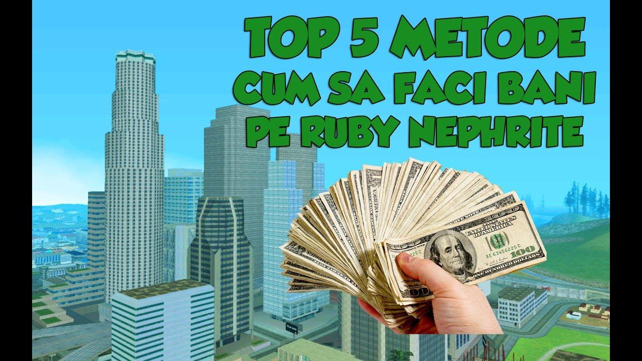 cum să faci bani în top)