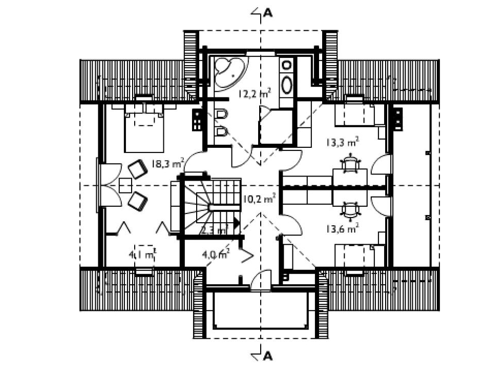 Casa cu o terasă și o verandă descarcă proiectul. Opțiuni pentru proiecte de case cu verandă