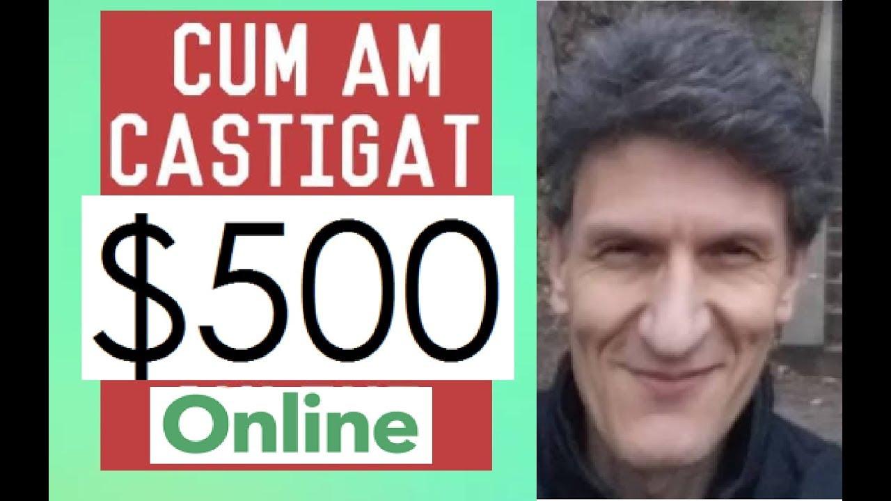 cum să faci bani online r)