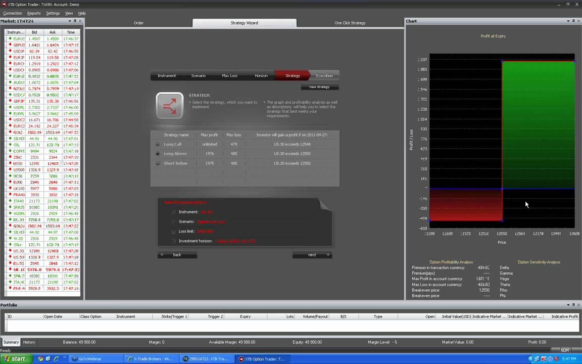 platformă de tranzacționare pentru Linux