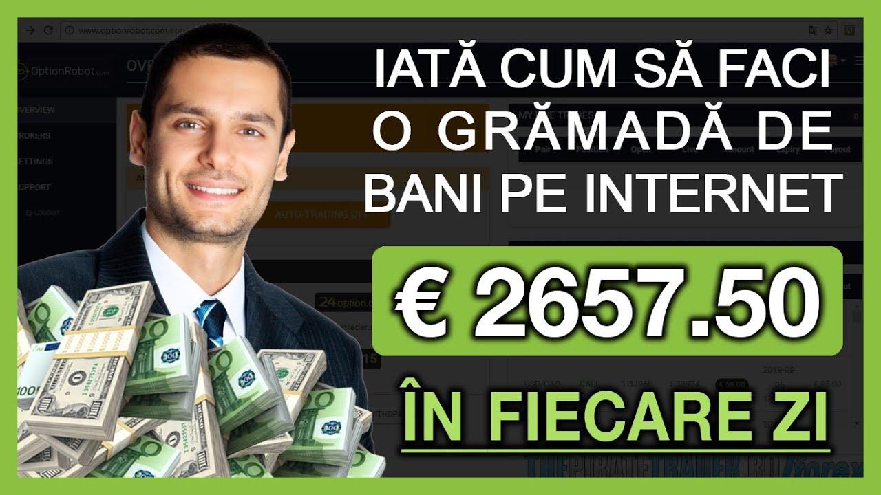a câștigat bani pe internet)