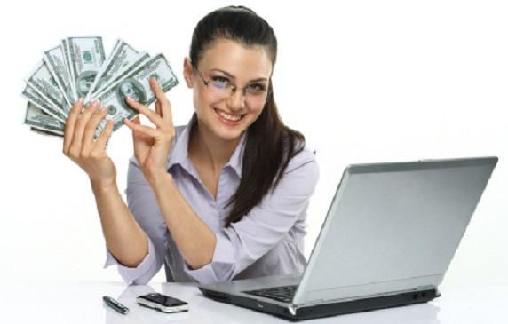 a face bani pe Internet nu este financiar)