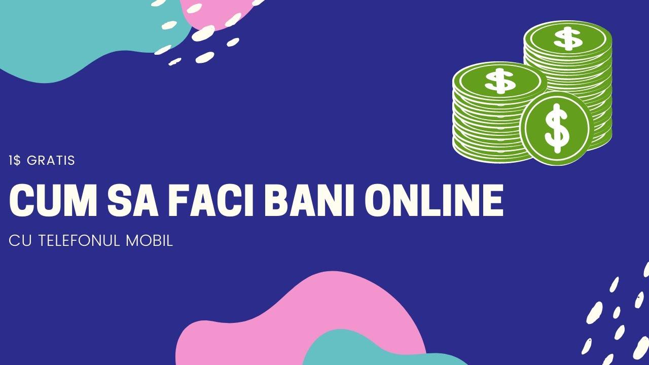 Cテ「t de uネ冩r este sト・faci bani pe internet? (P)