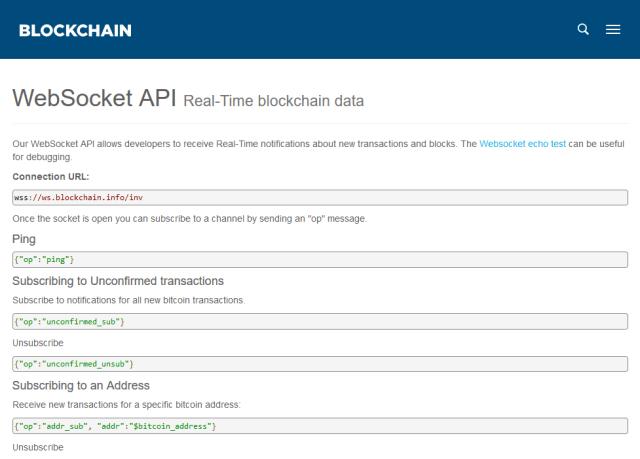 bitcoin info api)