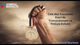 greșeli frecvente în tranzacționare)