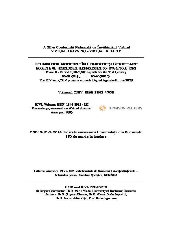 O gamă largă de opţiuni de formare - romaniaservicii.ro