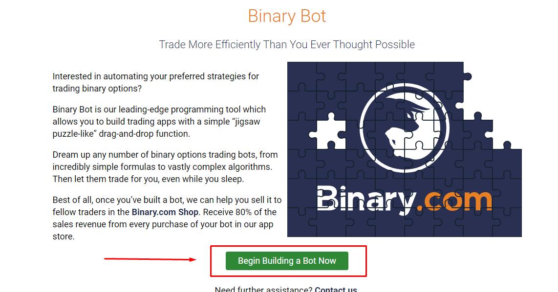 Un robot pentru opțiuni binare de tranzacționare automat