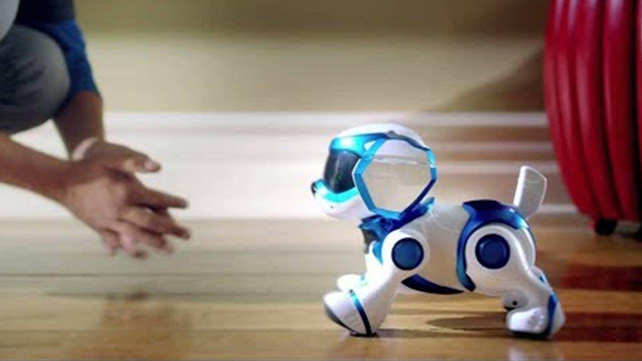 video despre centrul comercial robot