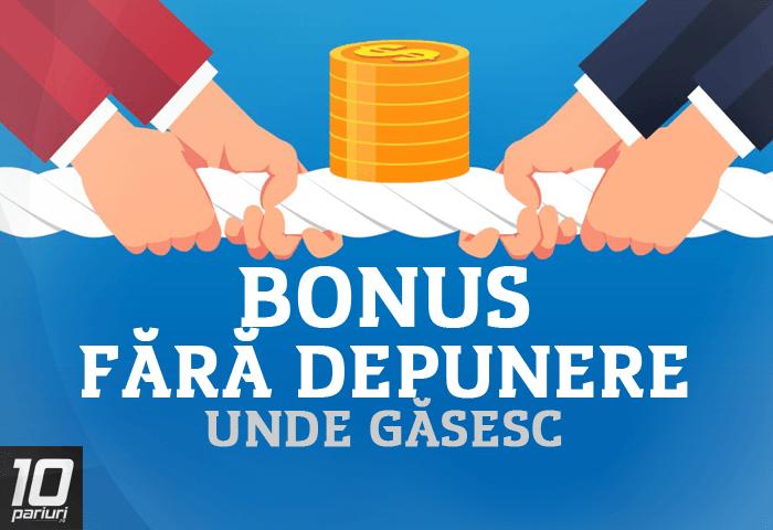 opțiune bonus fără depozit 2020 cu retragere