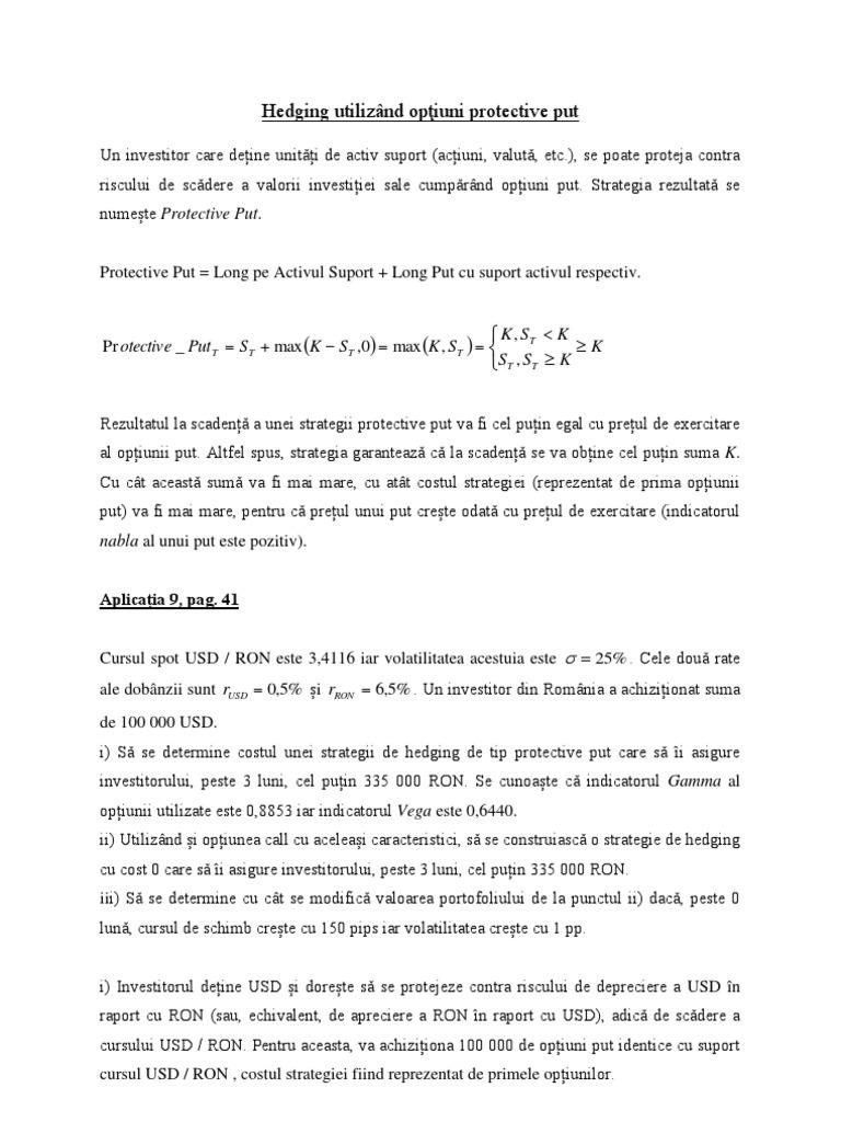strategie pentru opțiuni binomiale