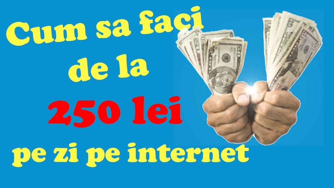 câștigați bani pe Internet fără a investi în înregistrare