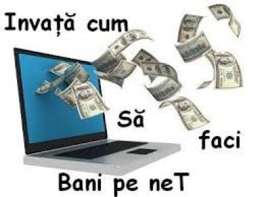 cum să faci bani online în)