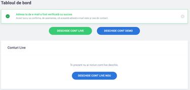 cum se deschide un cont demo opțiuni