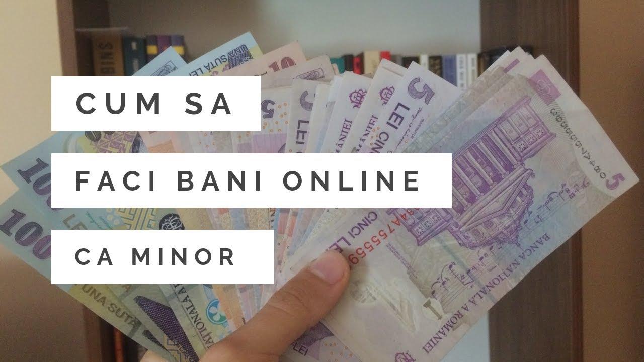 cum se face bani online)