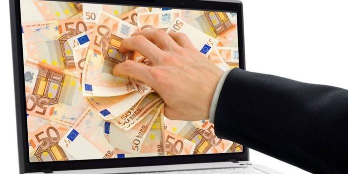 căutând venituri fără investiții pe internet)