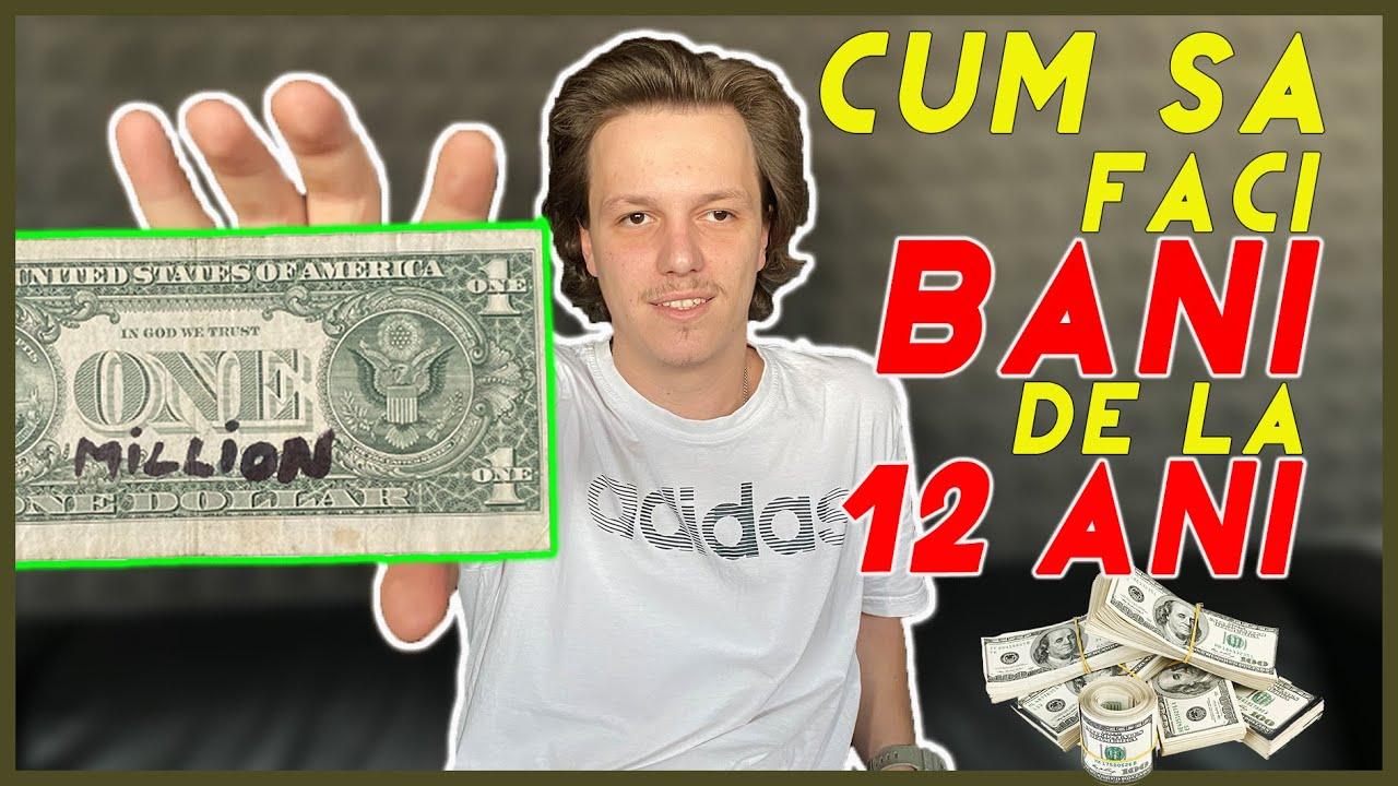 cum să faci bani de la vârsta de 13 ani)