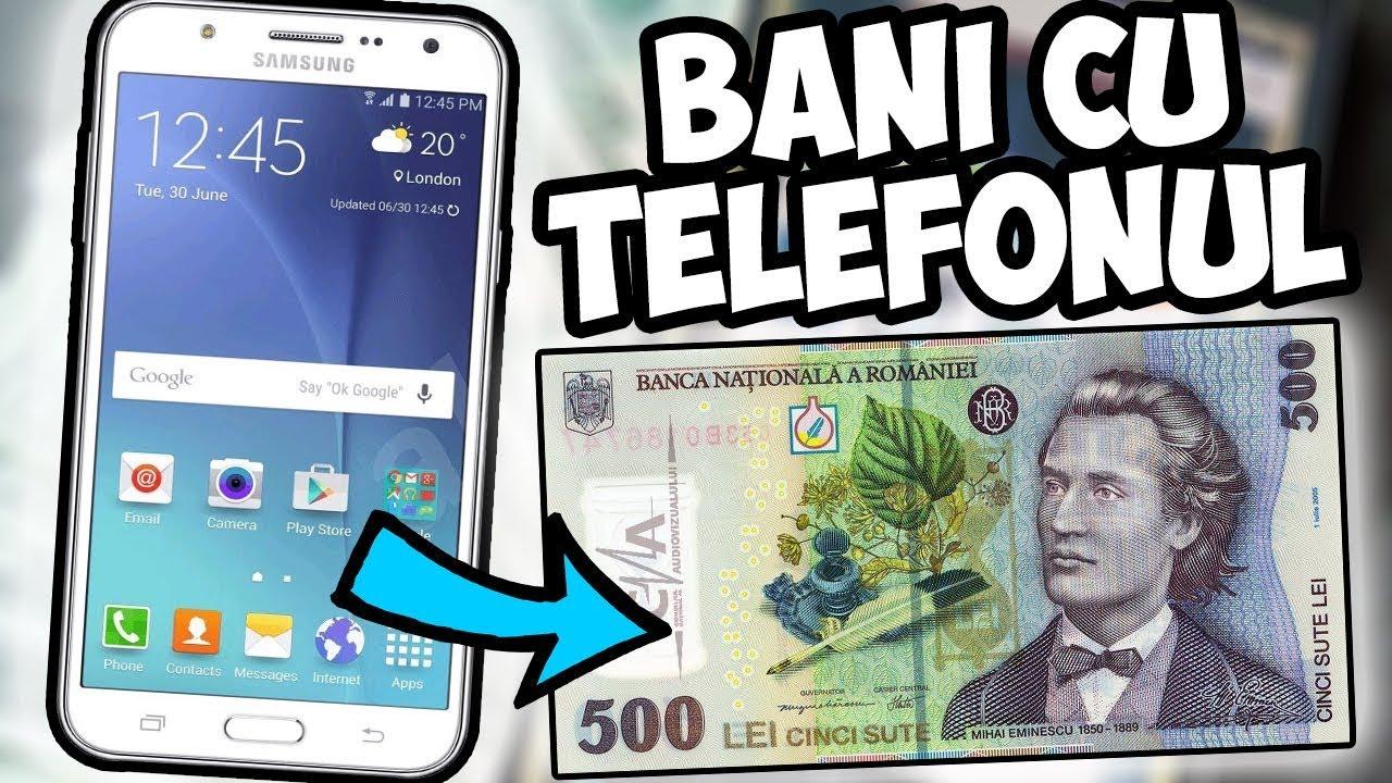 cum să faci bani pe telefonul tău mobil