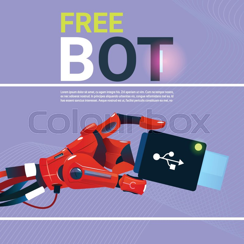 face bani cu un robot)