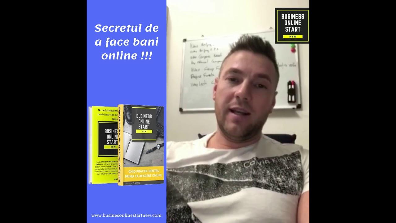 secretul de a face bani