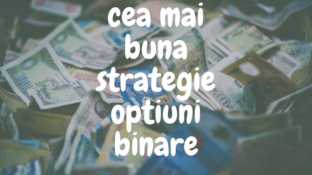 strategie de tranzacționare opțiuni binare q opton