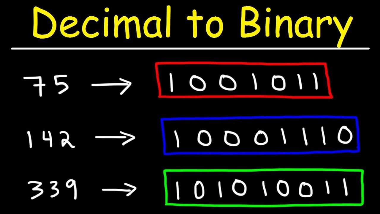 2. Conversia binar-zecimal - Electronica pentru toți