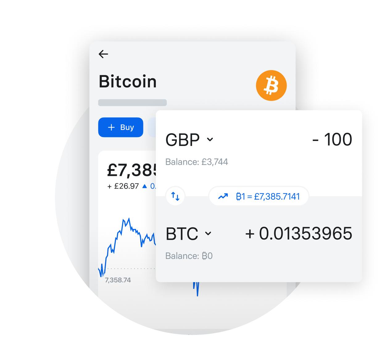 schimbă bitcoin